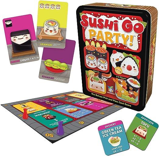 Gamewright Sushi Go Fiesta – El Juego de Cartas: Amazon.es ...