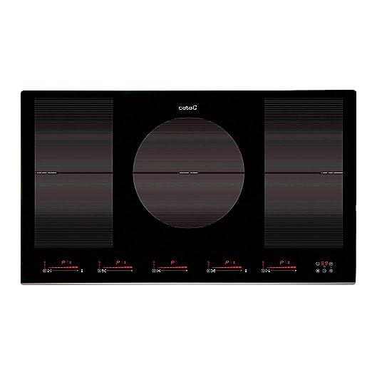 CATA INSB 9012 BK Negro, Integrado, Con placa de inducción ...
