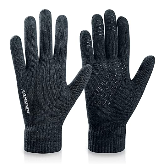 FengNiao Winter Warm Gloves Men Women Touchscreen Windproof Outdoor Running Skiing Driving Thermal Gloves