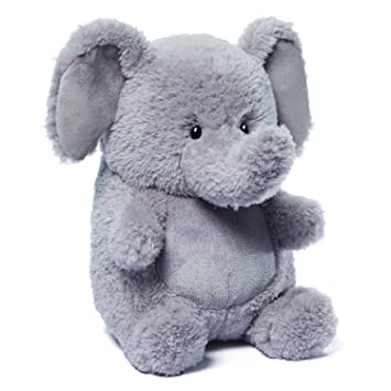 Amazon Com Gund 4048280 Edison Elephant Stuffed Animal Plush Toys