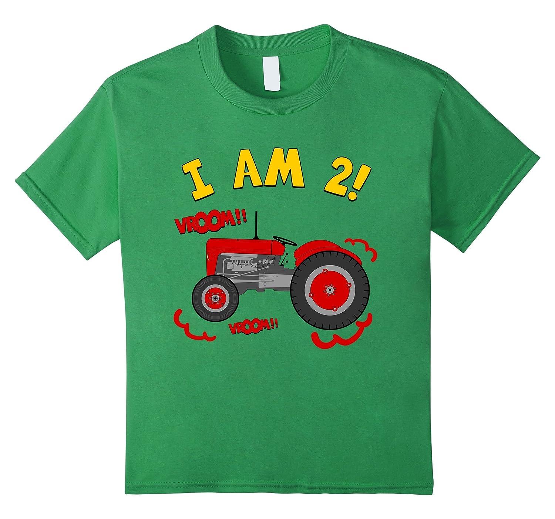 Amazon Kids 2nd Birthday Tractor T Shirt 2 Year Farm Tee Clothing