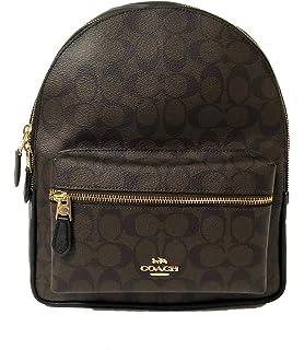 45cf2b44 Amazon.com: Coach F57636 Mini Charlie Nylon Backpack In Tea Rose ...