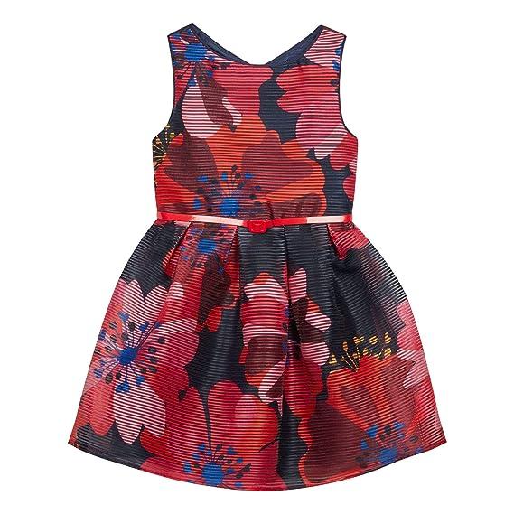 71896ceaf287 J by Jasper Conran Kids Girls' Multicoloured Floral Print Burnout Dress Age  4