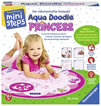 Acqua Ministeps Doodle PrincessTavoliAmazon Ravensburger 04500 xBdoreC