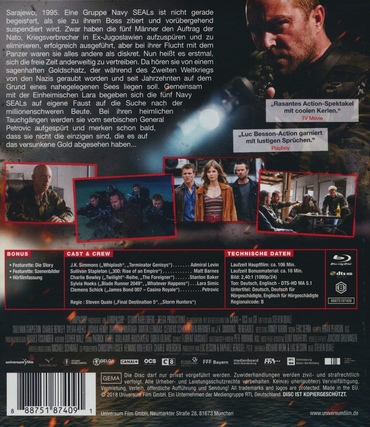 Renegades Mission Of Honor Alemania Blu Ray Amazones