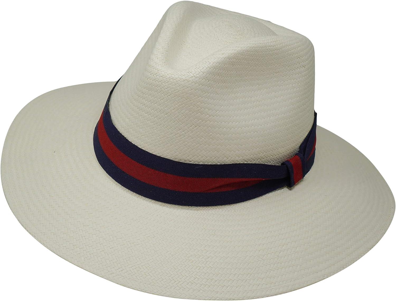 Safari Genuine Teardrop Panama Hat Hand Wearing Harder Woven Be super Ranking TOP4 welcome -