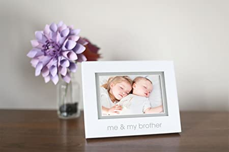 Pearhead Two Peas In A Pod Siblings Sentiment Frame Keepsake Photo