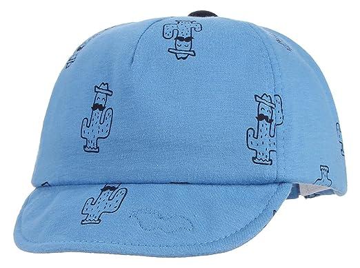La Vogue Casquette Baseball Chapeau Bébé Enfant Automne Plage Cap Voyage Hiver  Bleu Size1 c0327b26cbb