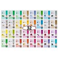Dermal Korea Collagen Essence Full Face Facial Mask Sheet A+B Full Color SET