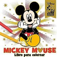 Mickey Mouse. Libro Para Colorear. Especial 90