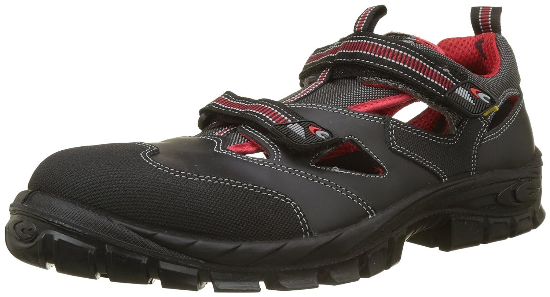 Cofra 13050-000 - Calzature di sicurezza estive, tipo sandalo, modello Guttorm S1 P Asgard, certificazione BGR191, colore  nero, nero, 13050-000