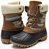 STQ Womens Winter Duck Boots Waterproof Cold Weather Snow Boots