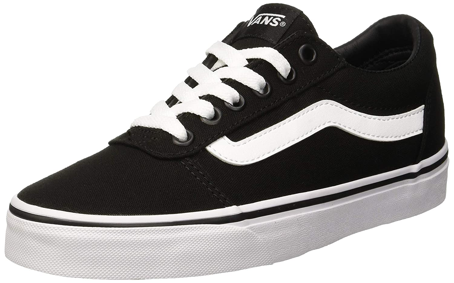 Vans Women's Ward Canvas Low-Top Sneakers