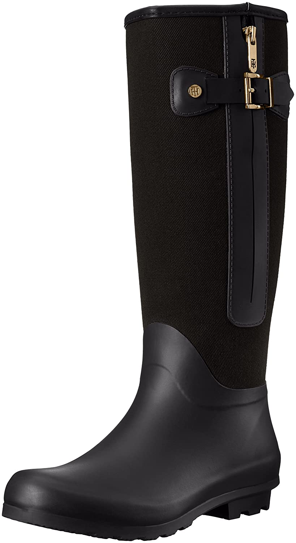 602c21a369e5 Amazon.com  Tommy Hilfiger Women s Mela Rain Boot  Shoes