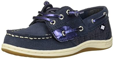 4244bf1c36d Sperry Girls  Songfish Jr Boat Shoe