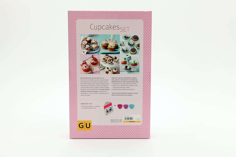 Cupcakes-Set: Mit 12 Silikonbackförmchen GU BuchPlus: Amazon.de ...
