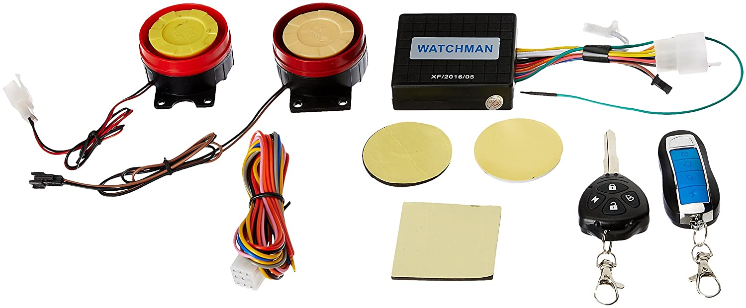 generic unbranded anti-theft security alarm system for all bikes:  amazon in: car & motorbike