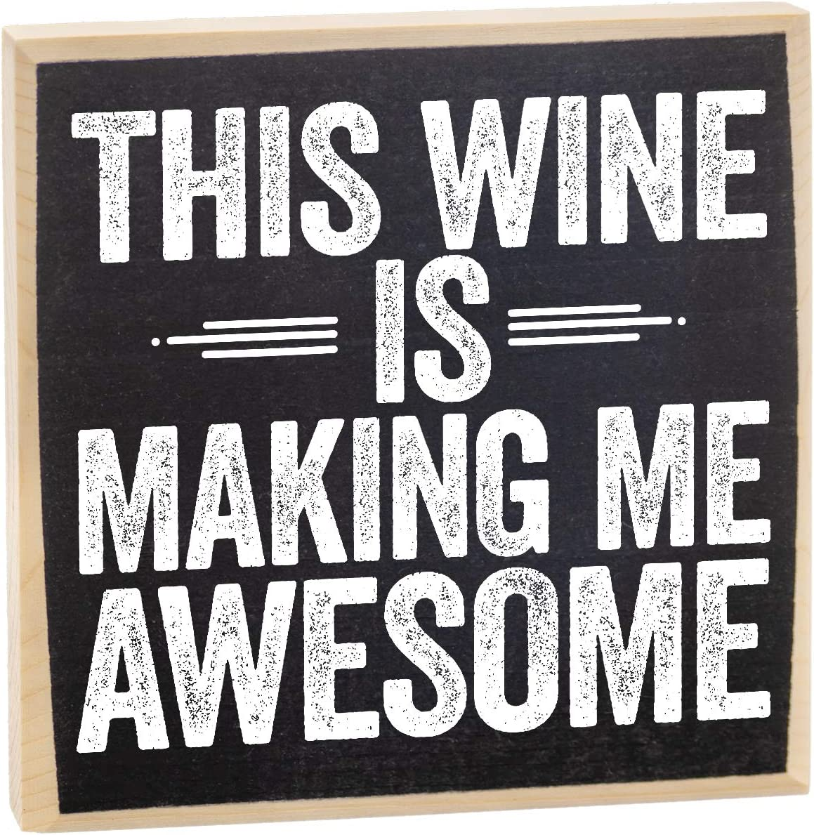 This Wine is - Rustic Wooden Sign - Makes a Great Wine Bar Décor or Gift Under $15!
