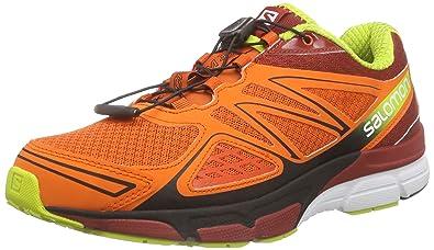 Salomon X Scream 3D, Men's Running Shoes, Tomato RedFlea