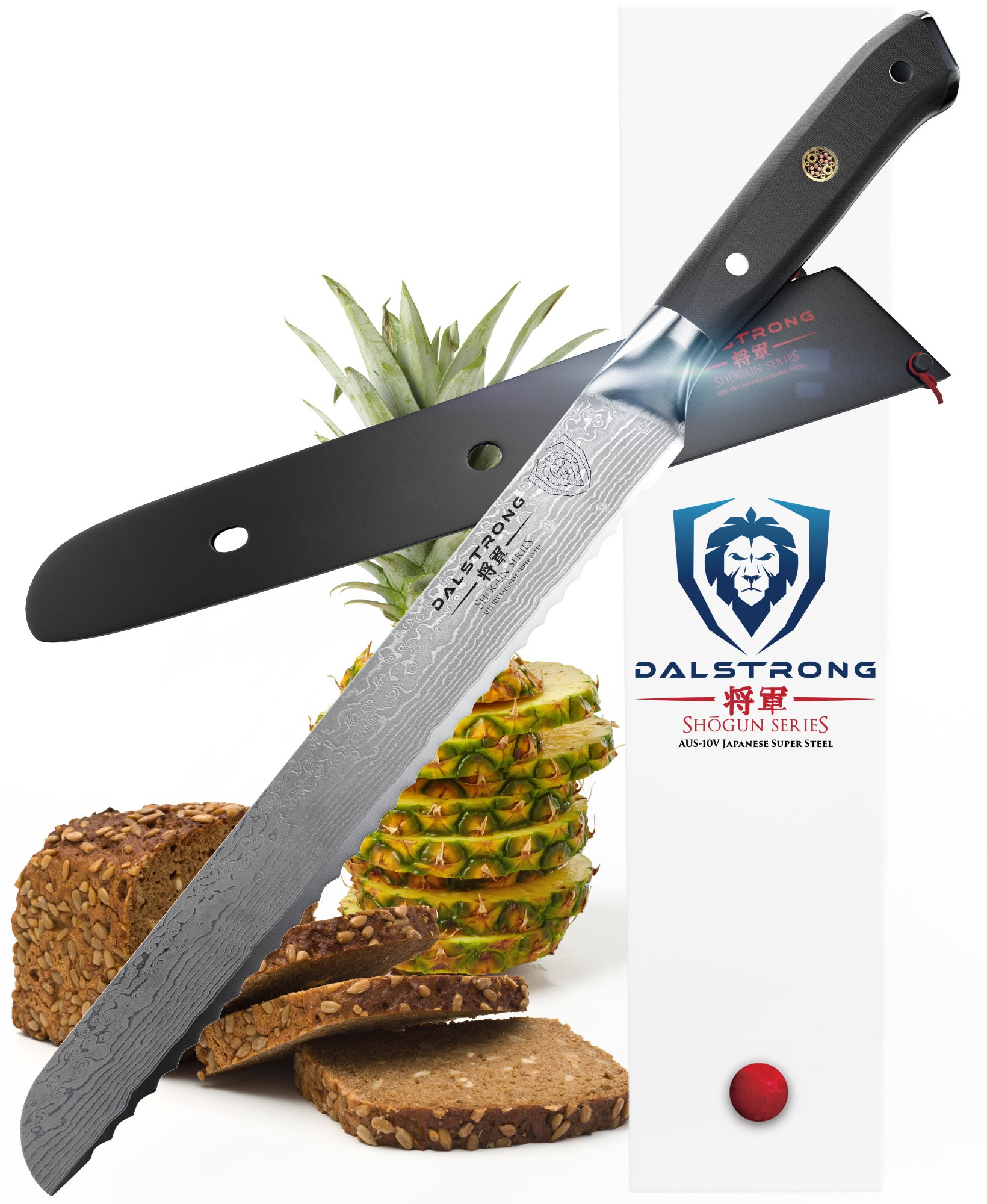 DALSTRONG Bread Knife - Shogun Series - VG10 - 10.25'' (260mm) by Dalstrong