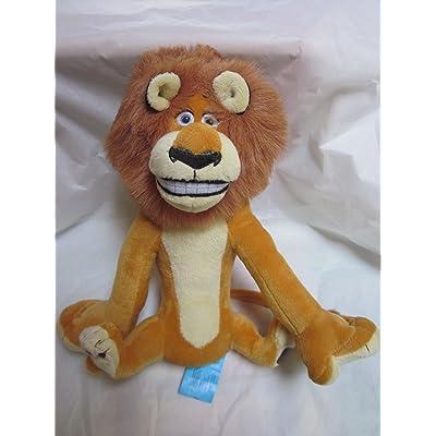 "Madagascar Live! Alex 10"" Sitting Plush: Toys & Games"
