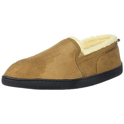7064e76b726 Gold Toe Mens Moccasin House Shoes
