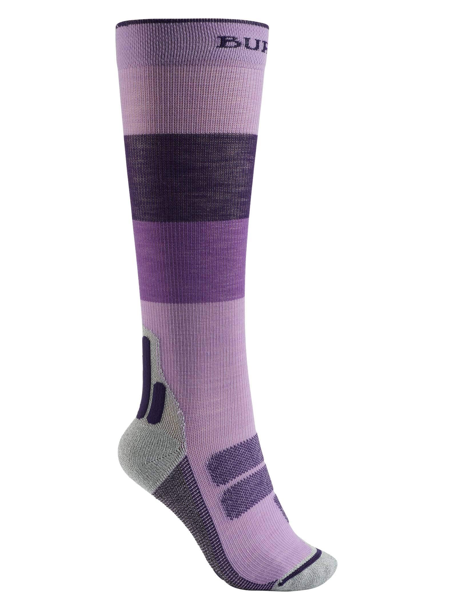 Burton Women's Performance + Ultralight Compression Sock, Concord Block, Medium by Burton