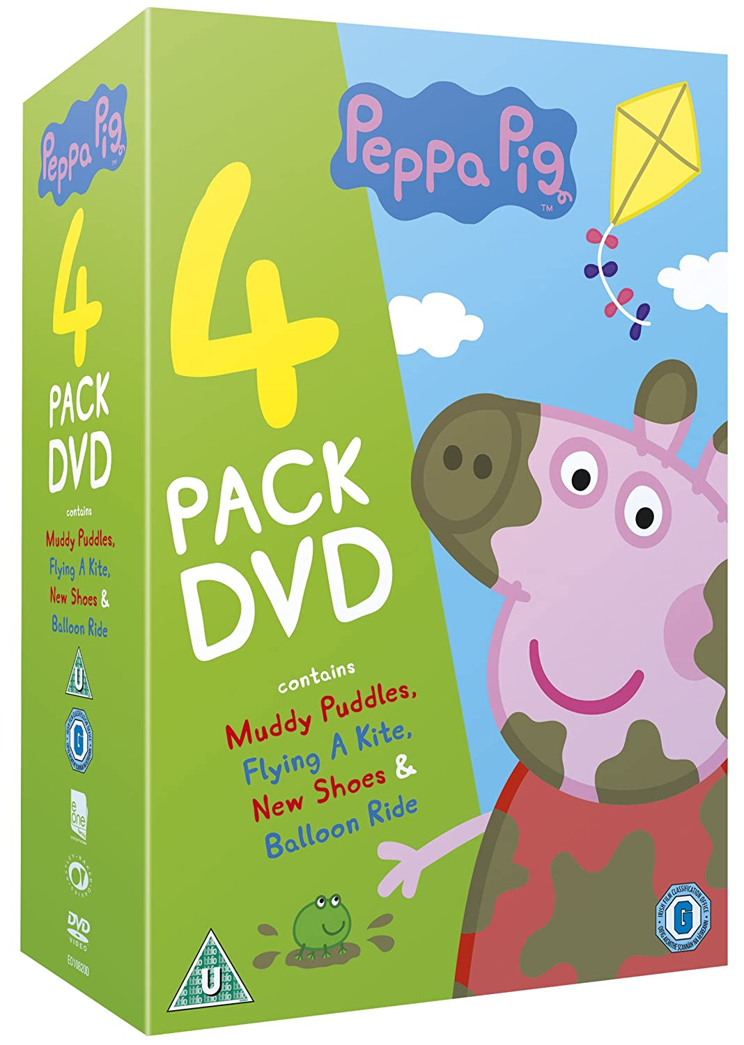 Peppa Pig: The Muddy Puddles Collection DVD Reino Unido: Amazon.es ...