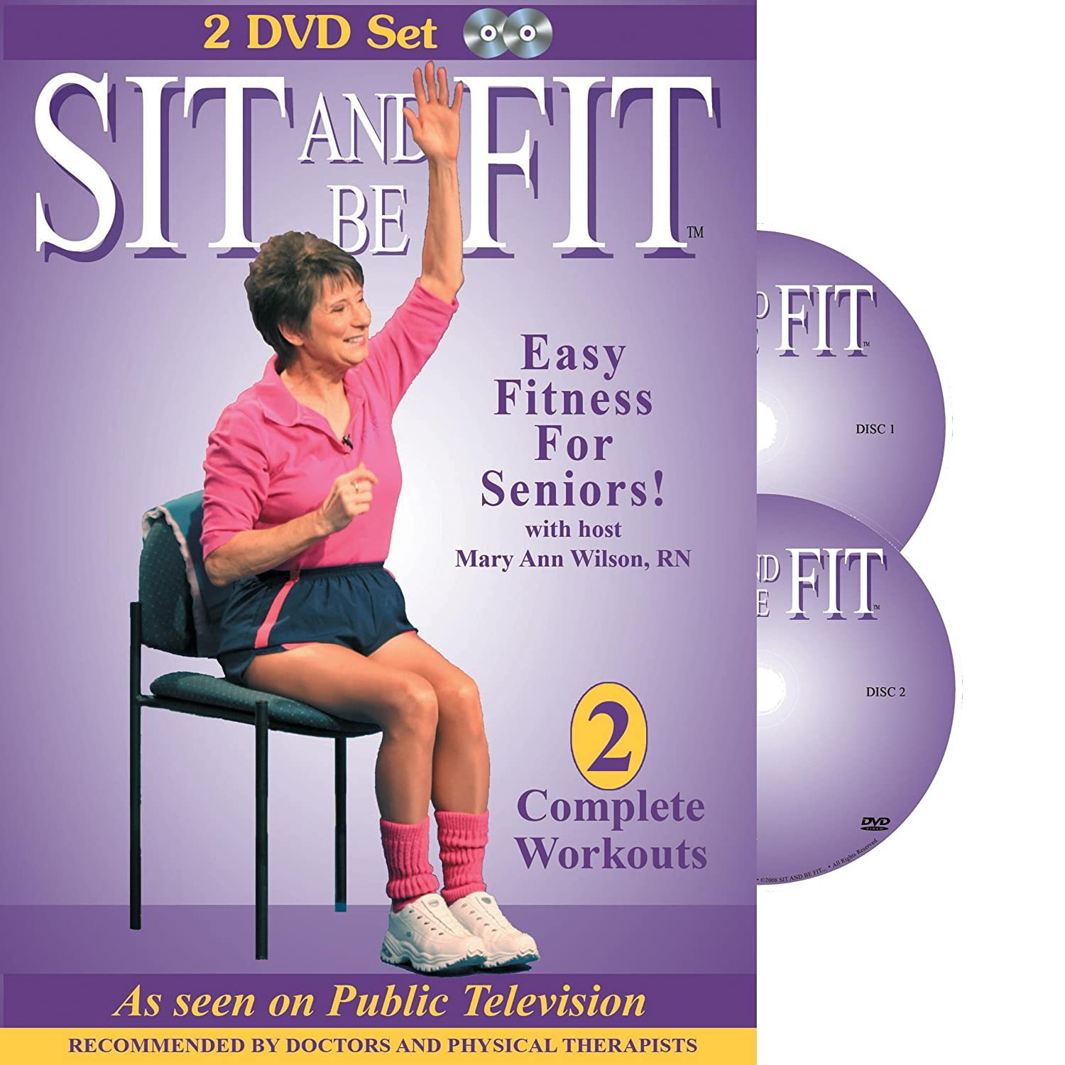 Chair exercises for seniors - Amazon Com Sit And Be Fit Easy Fitness For Seniors Complete Workouts Mary Ann Wilson Movies Tv
