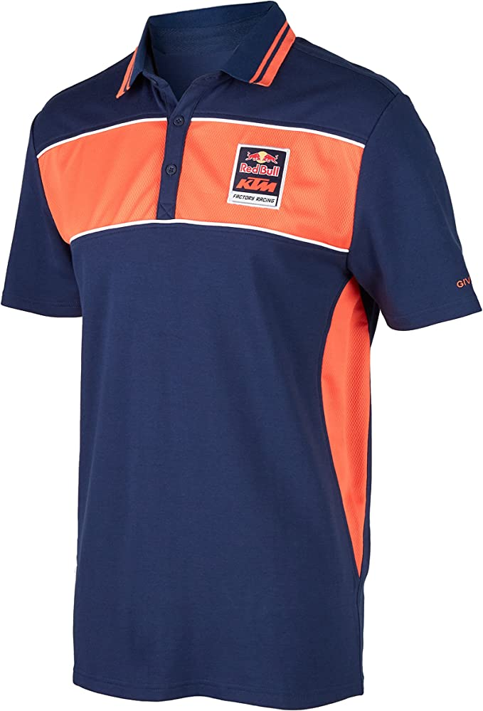 Red Bull KTM Factory Racing Camisa de Polo para Hombre - Azul ...