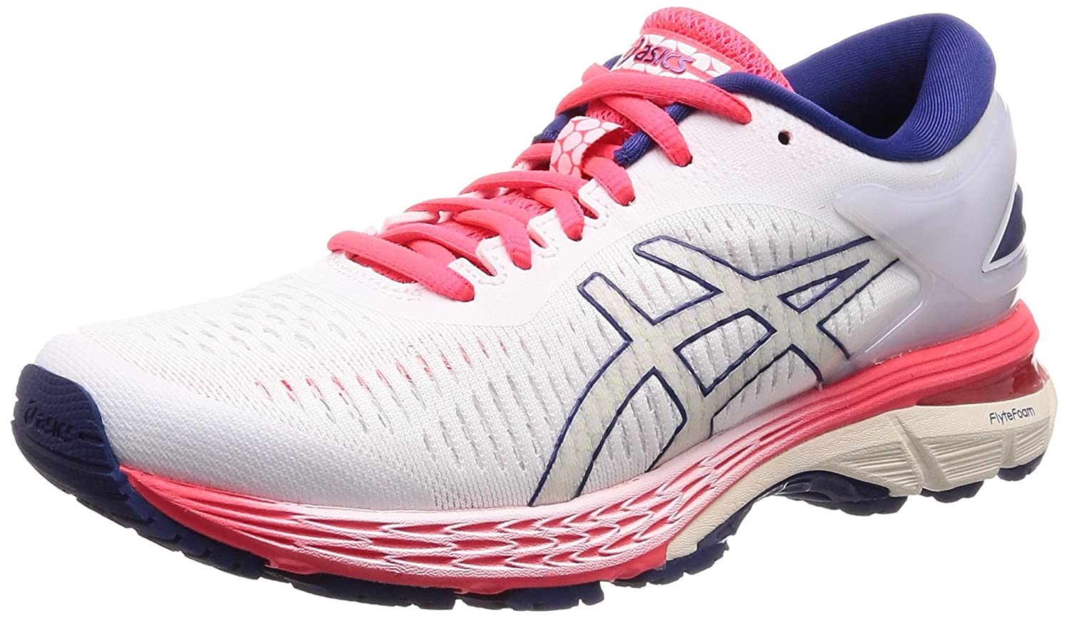 ASICS Gel-Kayano 25 Men's Running Shoe B077MRR6Z7 10 B(M) US|White/White
