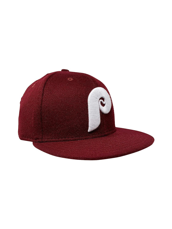 New Era Philadelphia Phillies 59Fifty Fitted Hat MLB Flat Bill Baseball Caps 5950