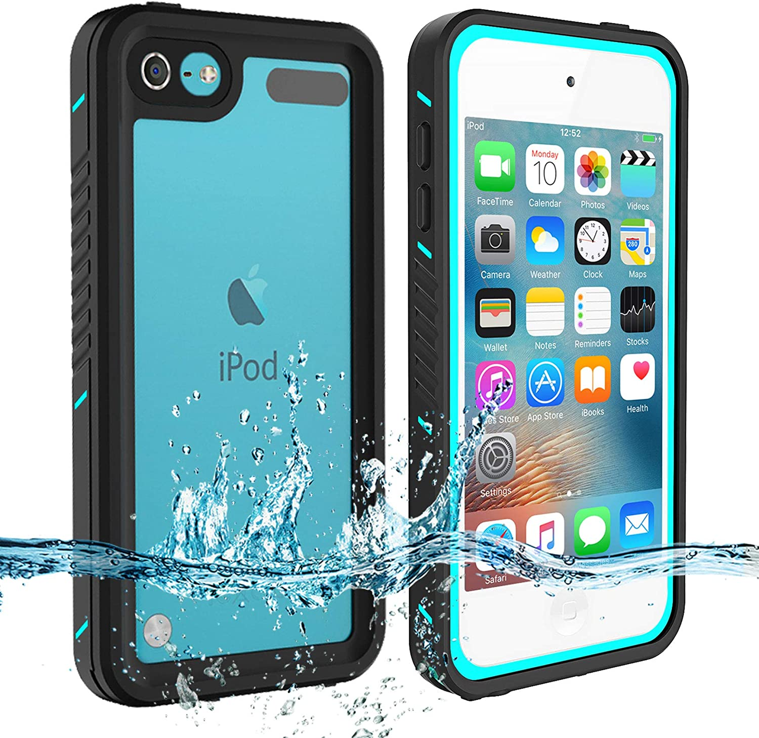 Shockproof Waterproof Case Screen Protector For Apple iPod Touch 5 6 5th 6th Gen