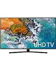 """Samsung 65"""" Pantalla UN65NU740DFXZA Ultra HD Smart LED TV 4K con diseño ULTRA Delgado FUNCIÓN BLUETOOTH AUDIO (solo salida), incluye control remoto inteligente con función de comando de voz y Aplicaciones como Netflix, Youtube, Hulu (Renewed)"""