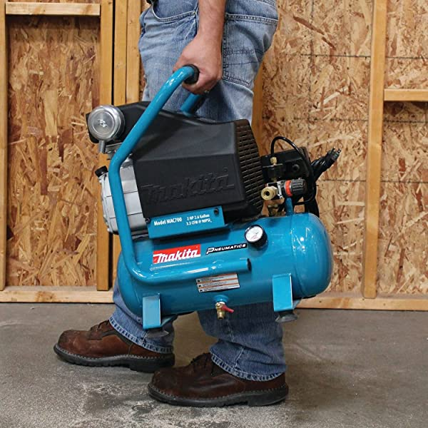 Makita MAC700air compressor is very versatile and can be used with a wide variety of tools