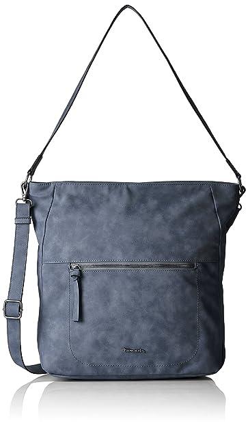 Damen Twiggy Hobo Bag Schultertasche, Blau (Blue), One Size Tamaris