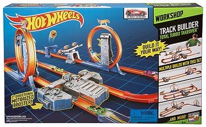 Mattel Hot Wheels Track Builder Total Turbo Takeover Track Set