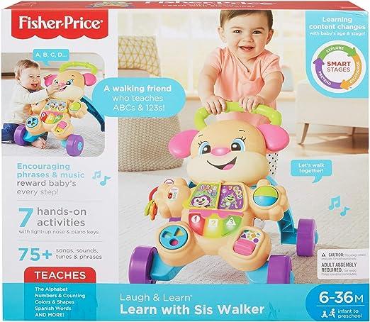 Amazon.com: Fisher-Price Laugh & Learn Etapas inteligentes ...