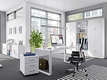 möbelando Büro-Set Büroeinrichtung Arbeitszimmer Büromöbel ...