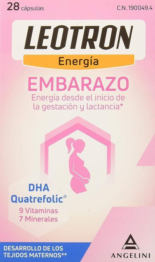 Leotron Embarazo - 28 Cápsulas: Amazon.es: Salud y cuidado ...