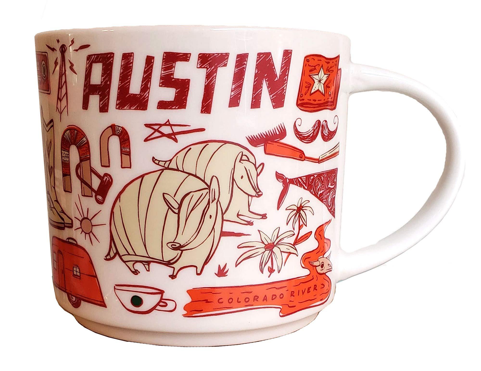 Starbucks Austin Coffee Mug - Been There Series
