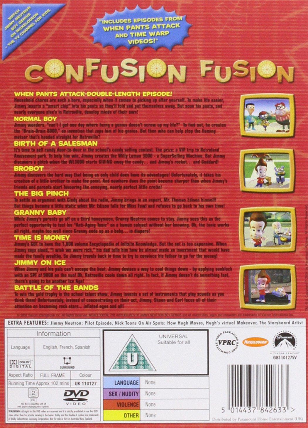 Jimmy Neutron - Boy Genius: Confusion Fusion [DVD]: Amazon