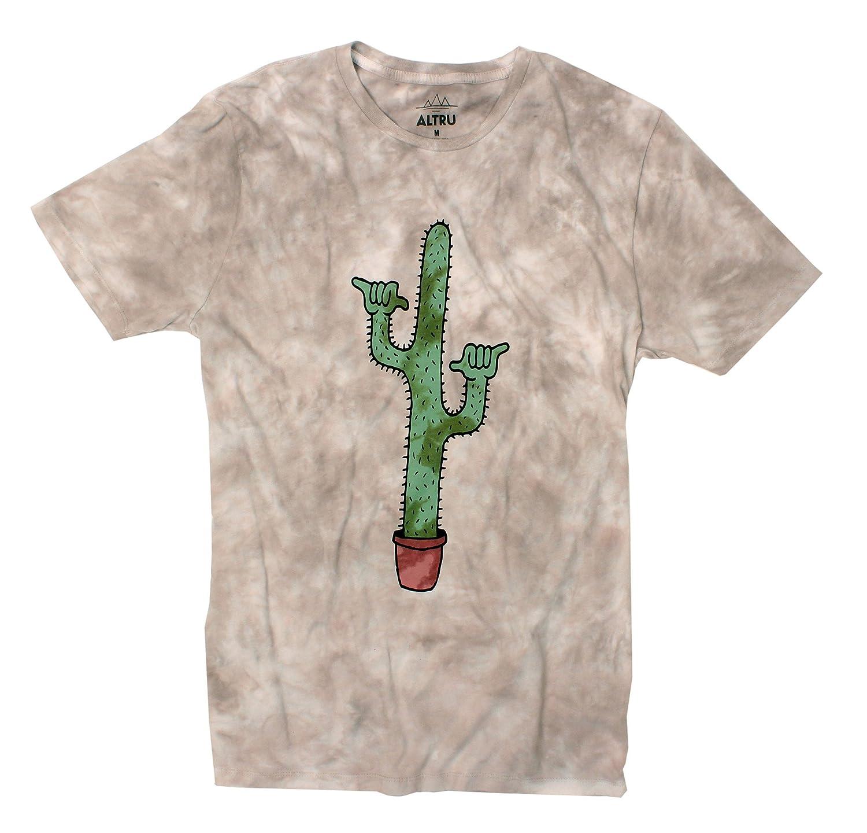 Cactus T-Shirt Shaka Guaro Cactus on Cloud Washed Desert Colors by Altru Apparel