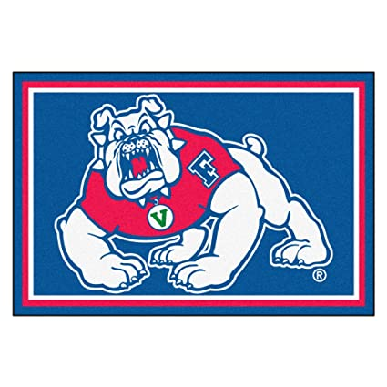 Amazon com : Fan Mats 6806 Fresno State Bulldogs 5' x 8