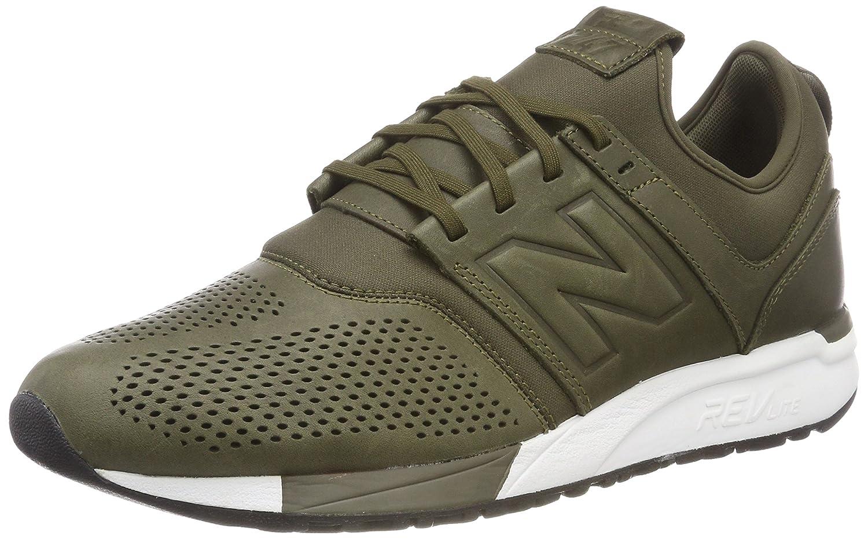New Balance 247v1, Zapatillas para Hombre 44.5 EU|Verde (Green/White No)