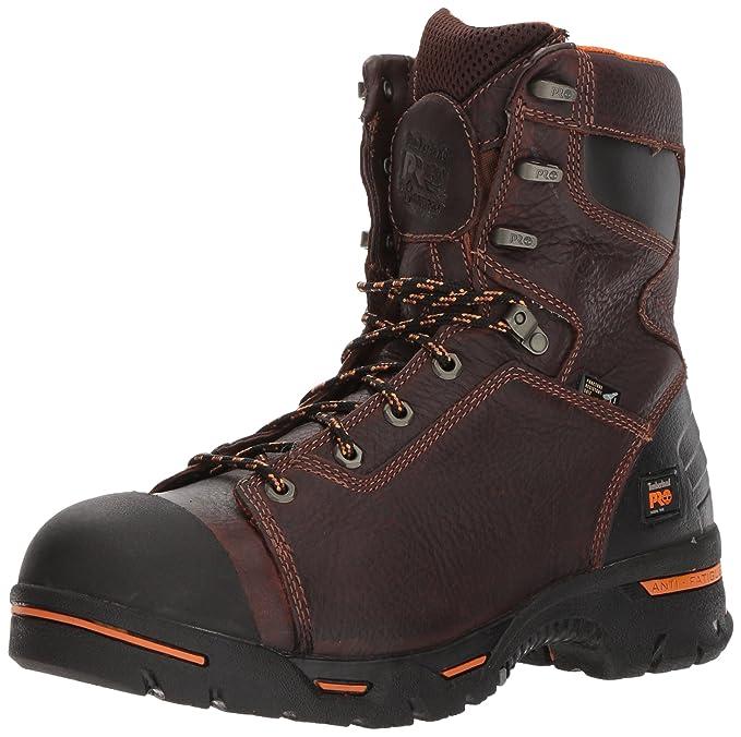 15 Hombres Pr Workboot M Timberland 52561 marrón Pro marrón 8