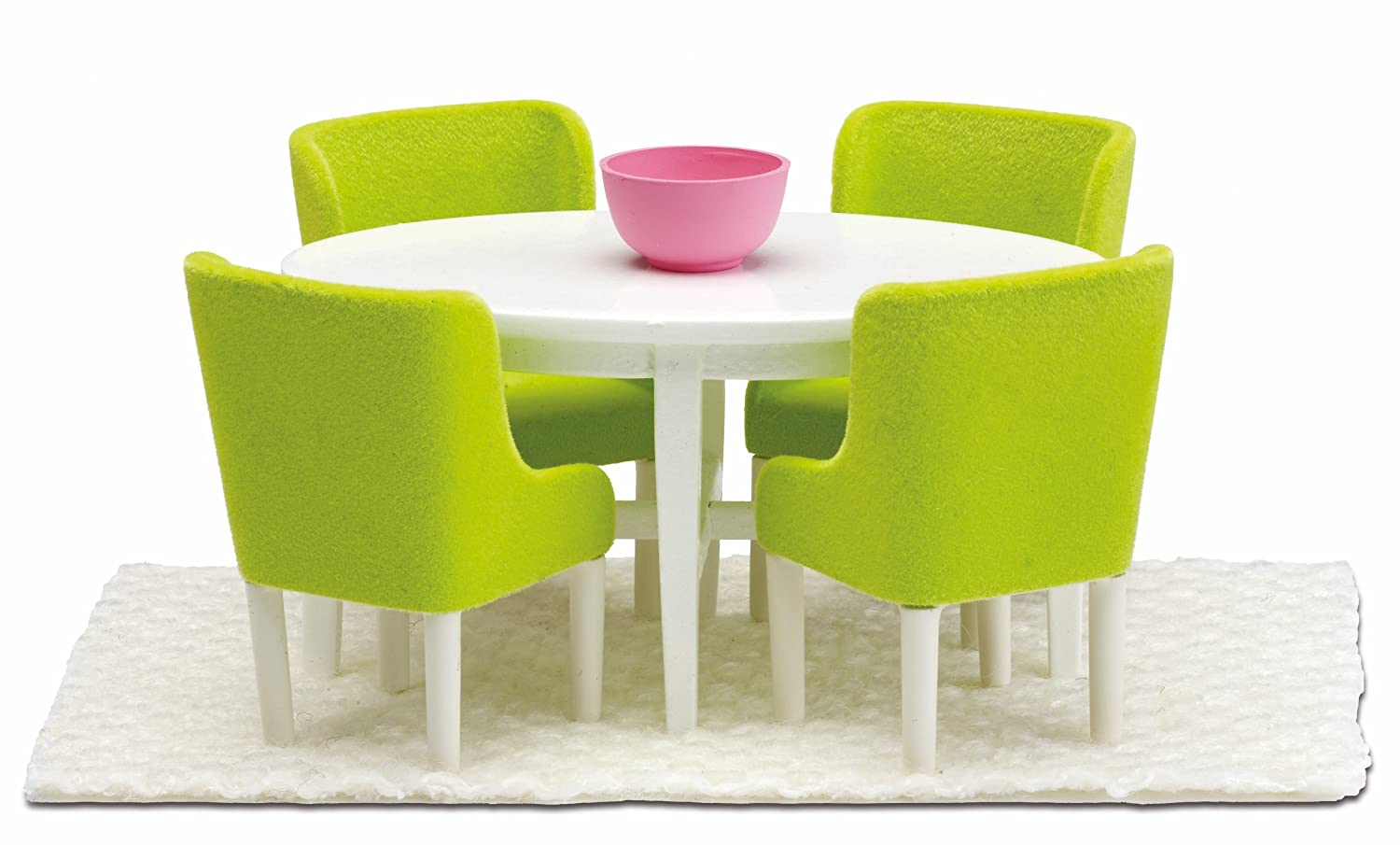 Amazon Lundby Smaland Dollhouse Dining Room Set Toys Games