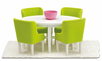 Lundby Smaland Dollhouse Dining Room Set