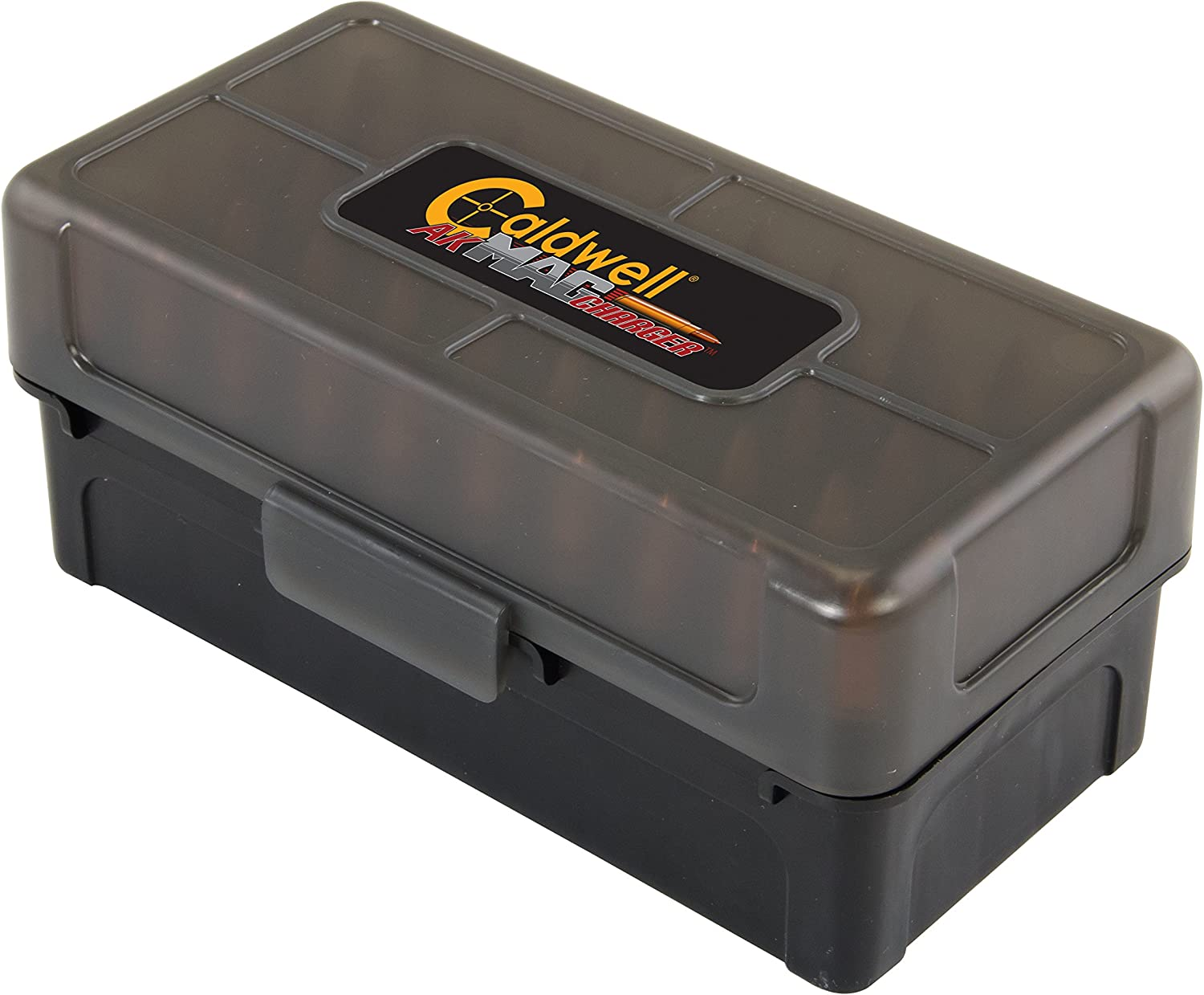 B00RPAGOAS Caldwell 7.62x39 Ammo Box with Removable Lid and Strong Construction for Outdoor, Range, Shooting, Competition and Reloading, 5 Pack 819yGrtFMnL
