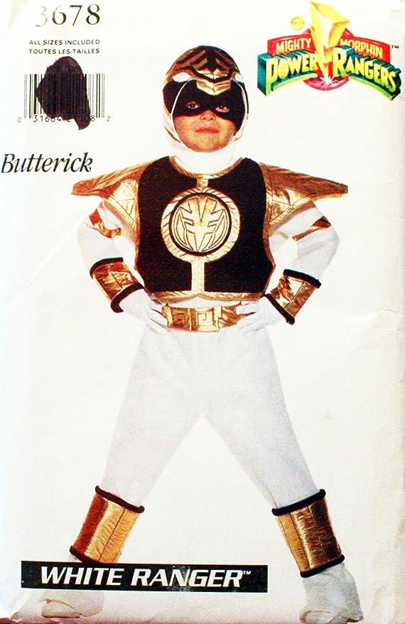 OOP Butterick Patterns Mighty Morphin Power Rangers – Patrón de ...